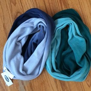 NWT old navy infinity scarves